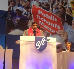 REV Barber at AFT 2