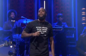 Big K.R.I.T. on the Tonight Show