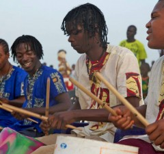 Drum Beat Journey is a documentary about young men connecting cultures